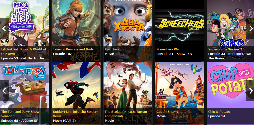 Top 12 Kiss Cartoon Alternatives for Streaming Free Cartoons Online