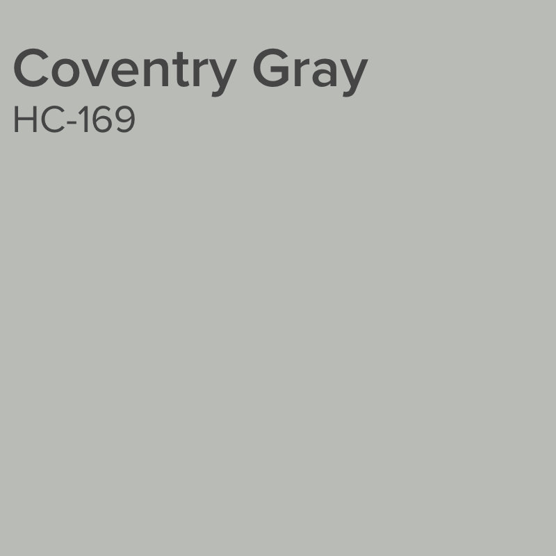 Benjamin Moore Coventry Gray HC-169