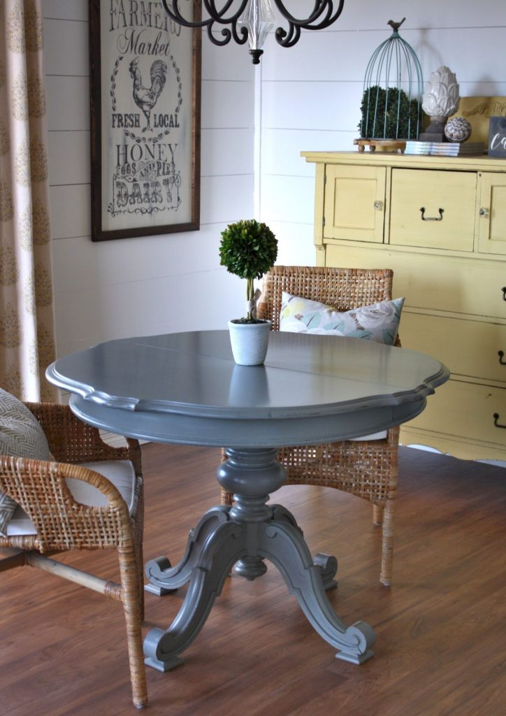 Chalk Paint Durable for a Kitchen Table
