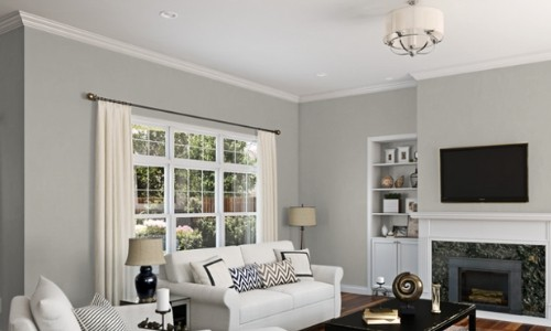 Repose Gray by Sherwin Williams Interior