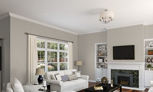 Sherwin Williams Agreeable Gray SW 7029 Interior 2