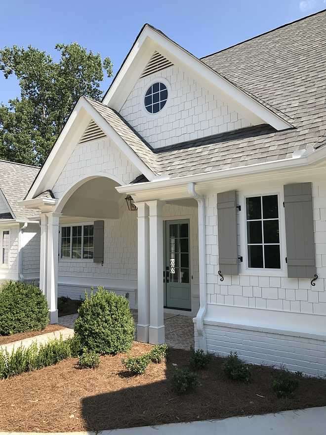 Sherwin Williams Alabaster SW 7008 Exterior