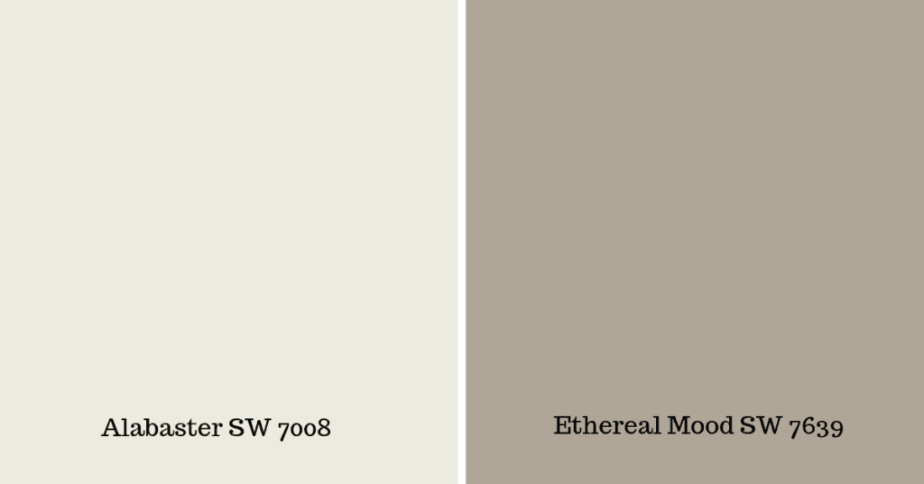 Sherwin Williams Alabaster SW 7008