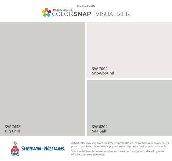 Sherwin Williams Big Chill 7648
