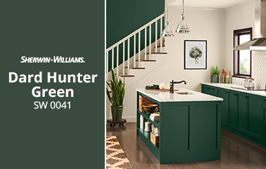 Sherwin Williams Dard Hunter Green SW 0041