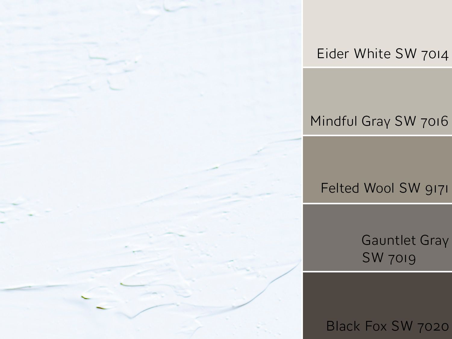 Sherwin Williams Eider White SW 7014