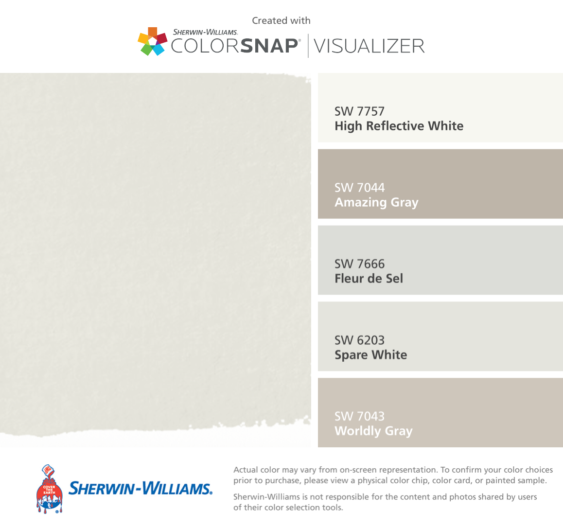 Sherwin Williams High Reflective White SW 7757