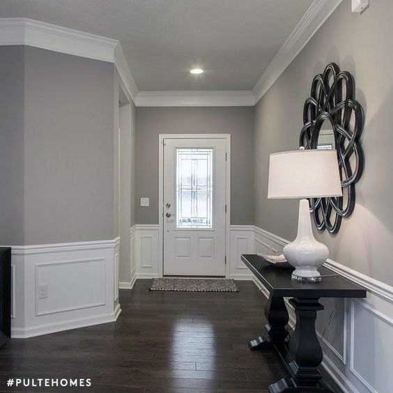 Sherwin Williams Mindful Gray SW 7016 Interior Wall