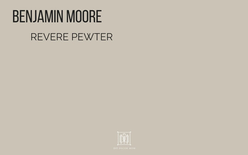What colour is Revere Pewter Benjamin Moore